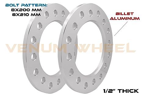 "2pc USA MADE 8 Lug 6.5/"" CHEVY HUB CENTRIC Wheel Spacer  1.5/"" Thick"