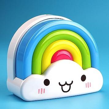 Baby Night Light Motion Sensor Opoway Plug In Rainbow Nightlights For Boy  Girl Kids Child Toddlers