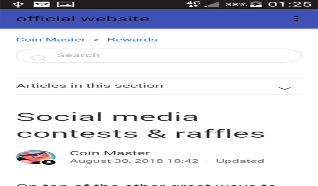 Guide For CoinMaster