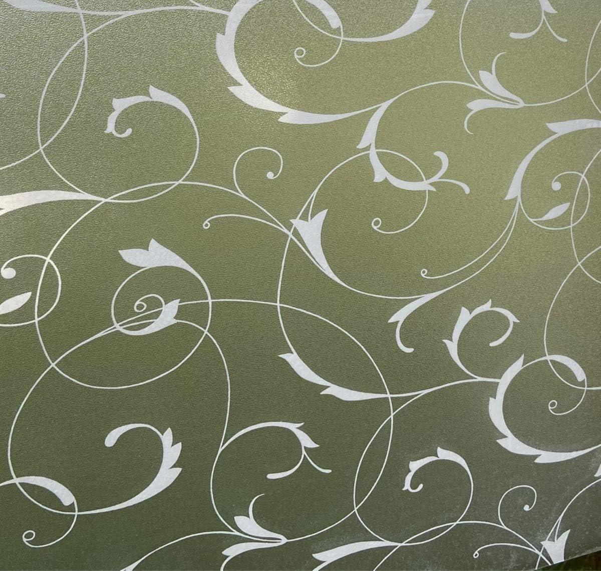Fensterfolie statisch Vitrostatic Dekorfolie Vitro Leaf Blätterranken Glasdekor