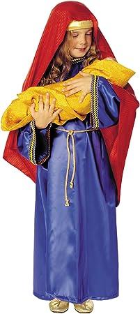 Stamco Disfraz Virgen Maria Niña (4 - De 3 a 4 años): Amazon.es ...