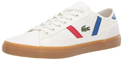 a7ab07df8 Lacoste Men s Sideline Sneaker Off White Gum 7.5 Medium US