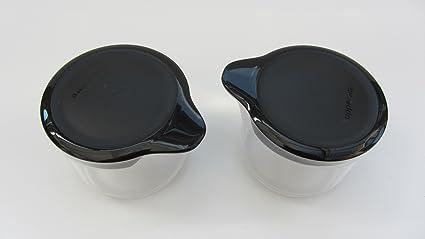 Zuckerhut Zuckerstreuer Milchkännchen C166 Tuppertime Behälter Tupperware NEU