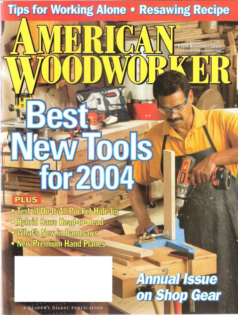 American Woodworker November 2003 Amazon Com Books