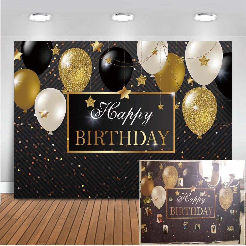 Mehofoto 2 2x1 5m Alles Gute Zum Geburtstag Party Kamera