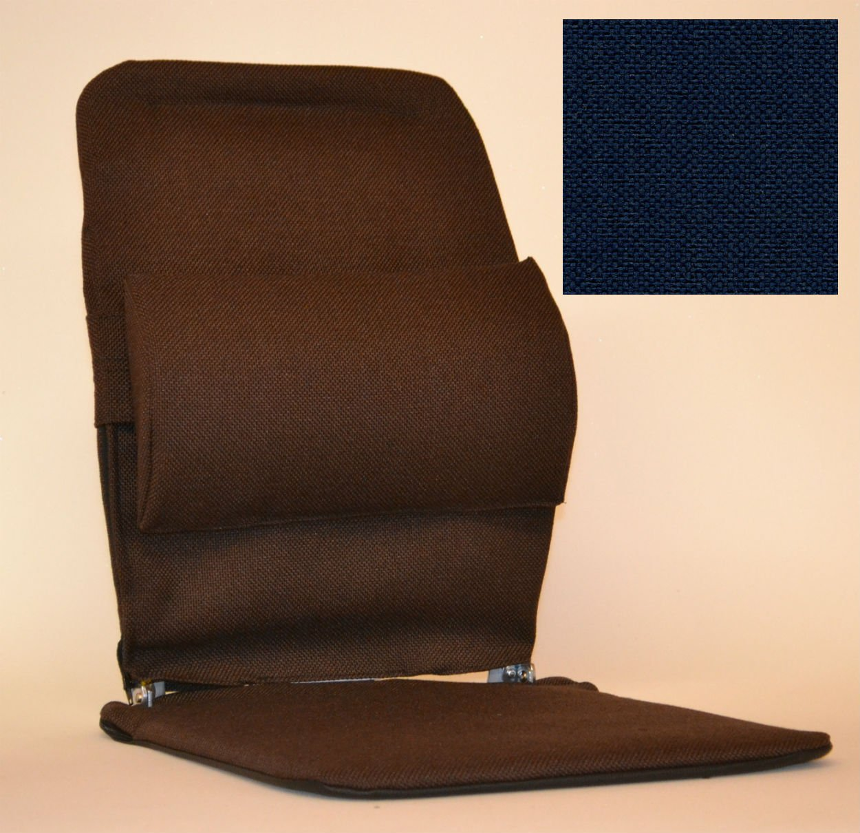 McCartys Sacroease Car Seat Support BRSM-BLUE by McCarty's