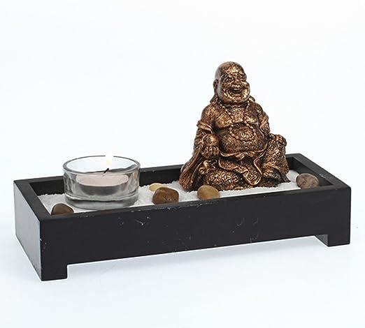 Mini jardín Zen Buda – L. 21 cm: Amazon.es: Hogar