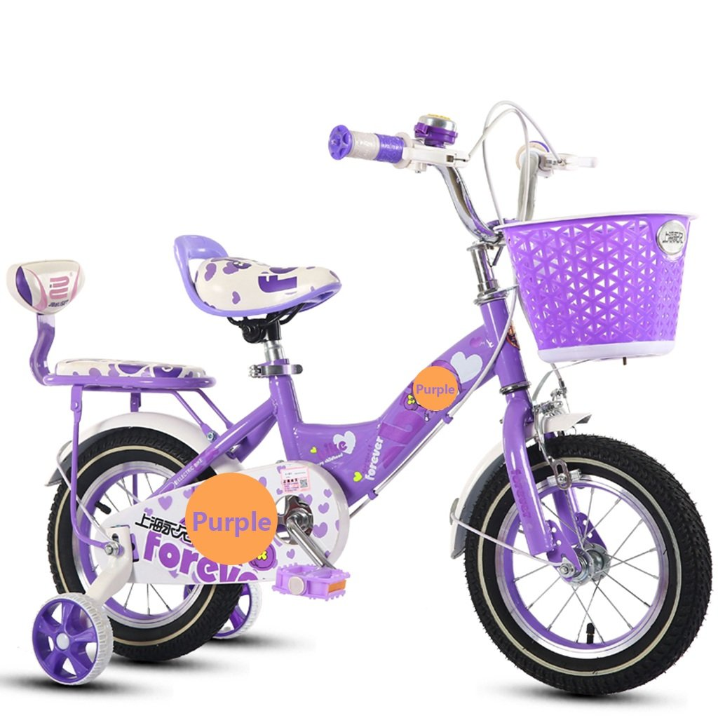 CSQ 屋外の自転車、少年少女のペダルの自転車の子供時代の個々の自転車2~9歳の赤ちゃん補助車の自転車と88\u200b\u200b-121CM 子供用自転車 (色 : パープル ぱ゜ぷる, サイズ さいず : 88CM) B07DXFYZ32 88CM パープル ぱ゜ぷる パープル ぱ゜ぷる 88CM