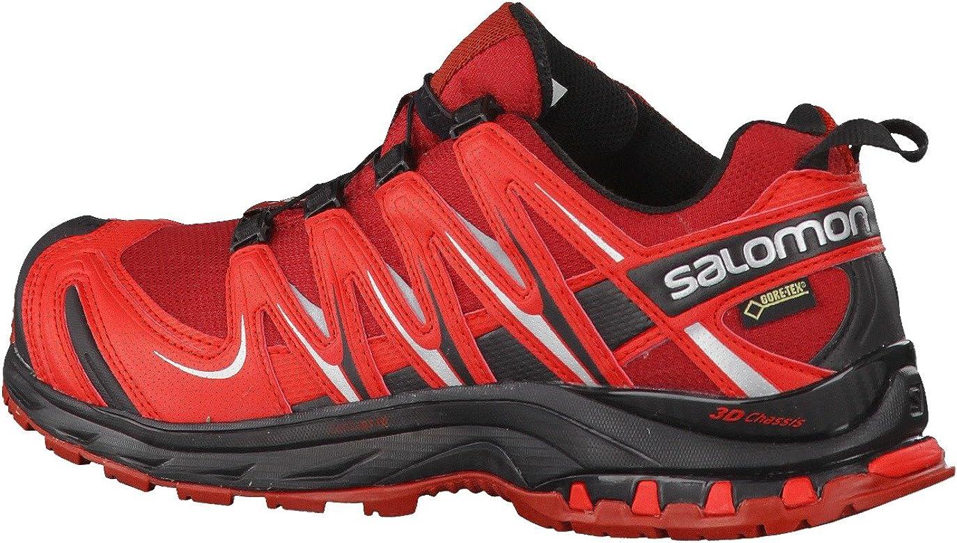 Zapatillas Salomon SHY; XA Pro 3D GTX, de senderismo, para hombre, color Rojo, talla 46 2/3 EU: Amazon.es: Deportes y aire libre