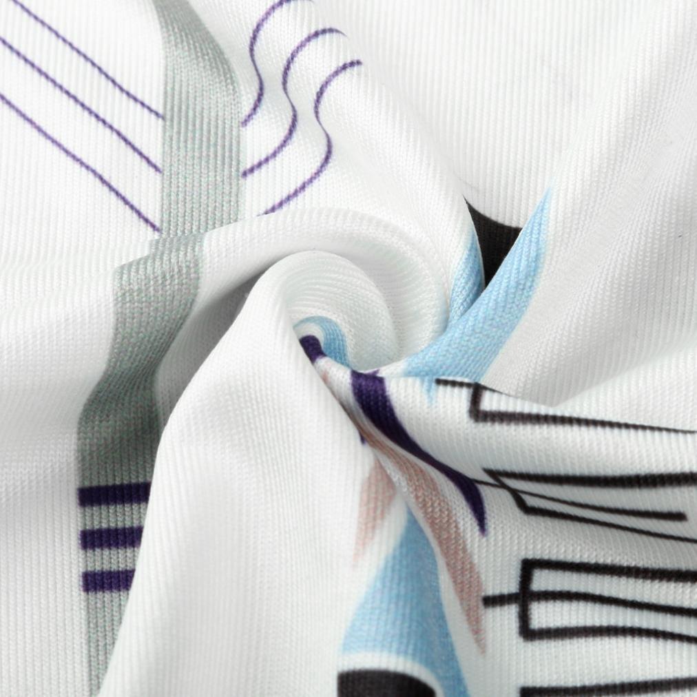 HODOD Women Basic Boho Print Racerback Loose Shirt Casual Tank Tops Vest Camis by HODOD (Image #7)