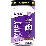 EAS Whey + Casein Protein Powder, Chocolate, 2 Pound