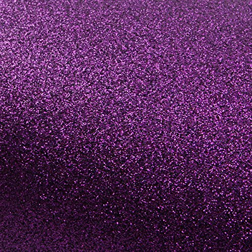- ROSEROSA Peel & Stick Glitter Sand Wall Paper & Crafting Tape Self Adhesive Shelf Liner Table and Door Reform Border Sticker (Violet : 3 inch X 5 Yard)