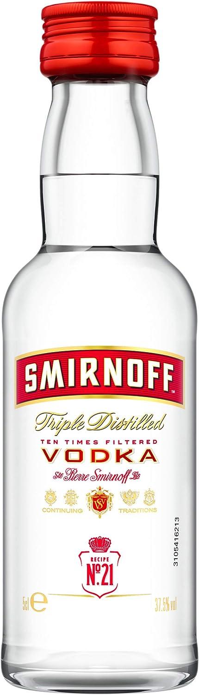 Smirnoff Red No. 21 Premium Vodka Triple Destilled 724617 ...