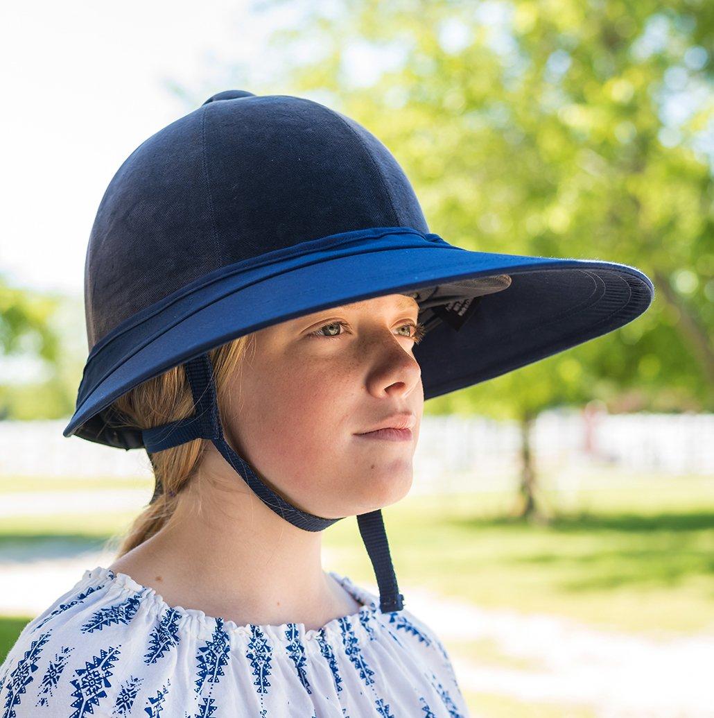Intrepid International Equivisor Cotton Helmet Visor