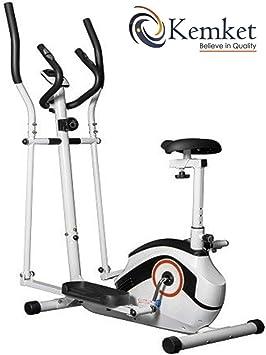 Ultra-Sport combinación Premium 2-en-1 elíptica y bicicleta ...