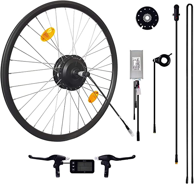 Das-Kit Kit Kit de conversión para Bicicleta eléctrica, 48 V 250 W ...