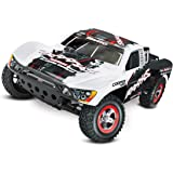Traxxas Slash 1/10-Scale 2WD Short Course Racing Truck with TQ 2.4GHz Radio and OBA, White