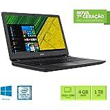 "Notebook Acer ES1-572-33SJ Intel Core i3 4GB RAM 1TB HD 15.6"" Windows 10"