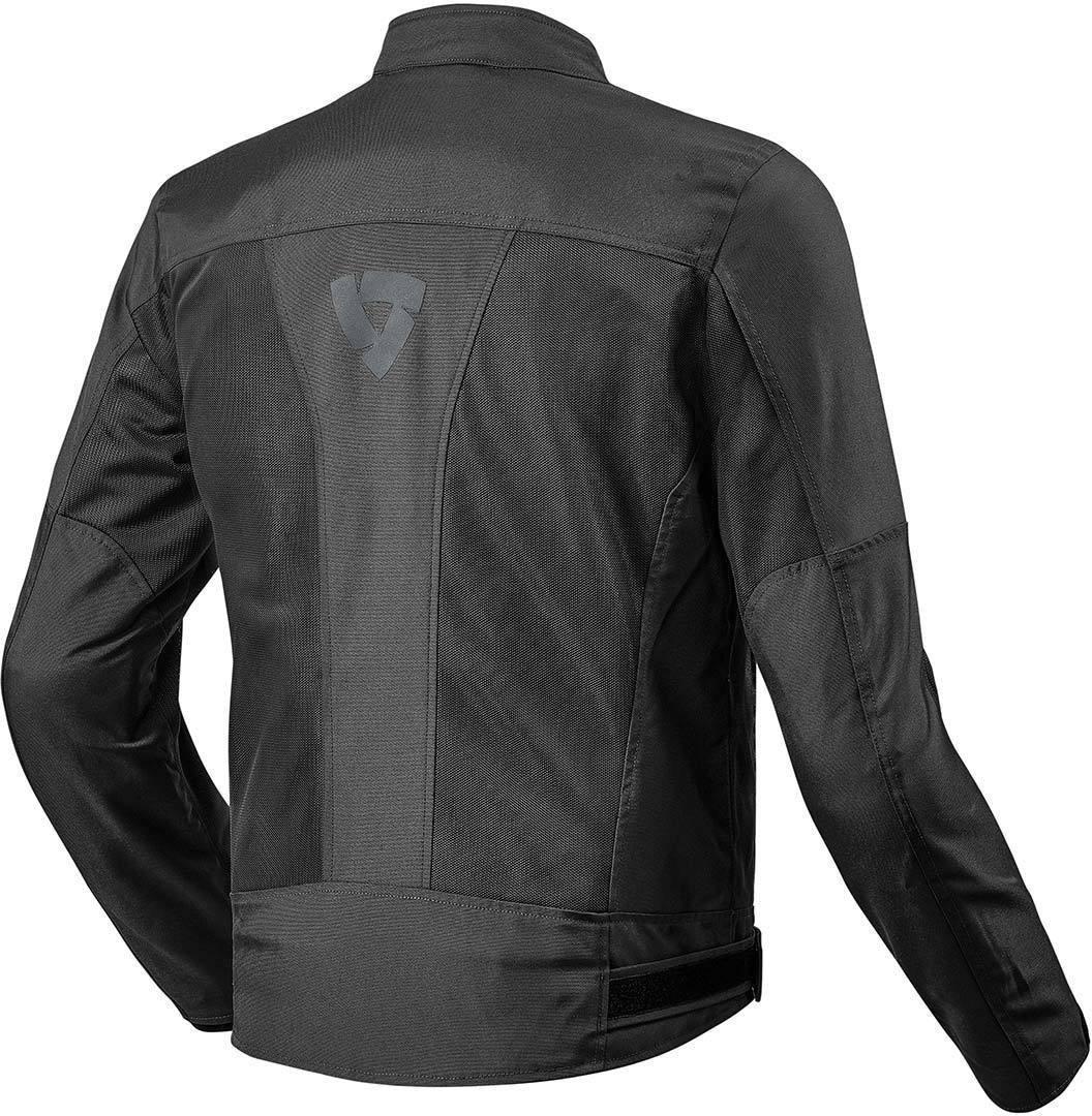 Rev It Eclipse Motorcycle Jacket 3XL Black FJT223-0010-XYL