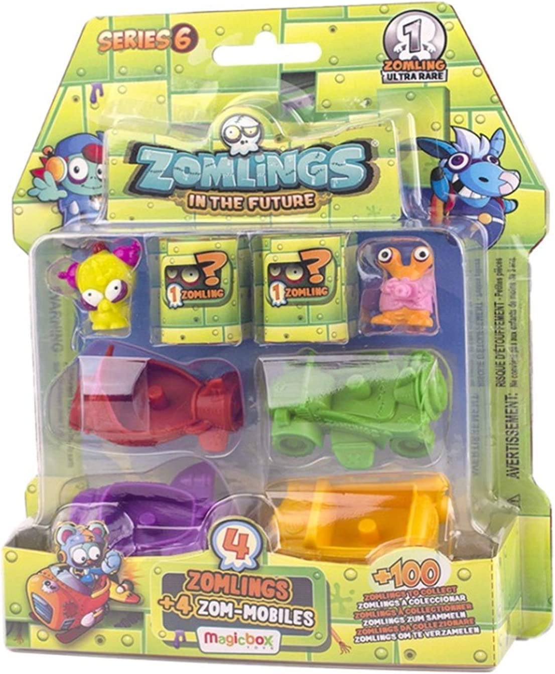 ZOMLINGS- Blíster Pack, Serie 6 (Magic Box INT. Toys ZM6P0600): Amazon.es: Juguetes y juegos