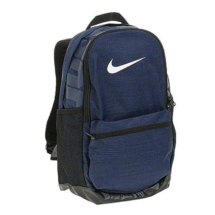 7ff22848 Nike Brasilia - Mochila Mediana, Azul Medianoche/Negro/Blanco, Misc