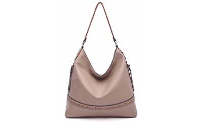 b2a8c06196 Amazon.com  MKF Collection by Mia K. Farrow Elle Vegan Leather Fashion Hobo  Bag  Shoes
