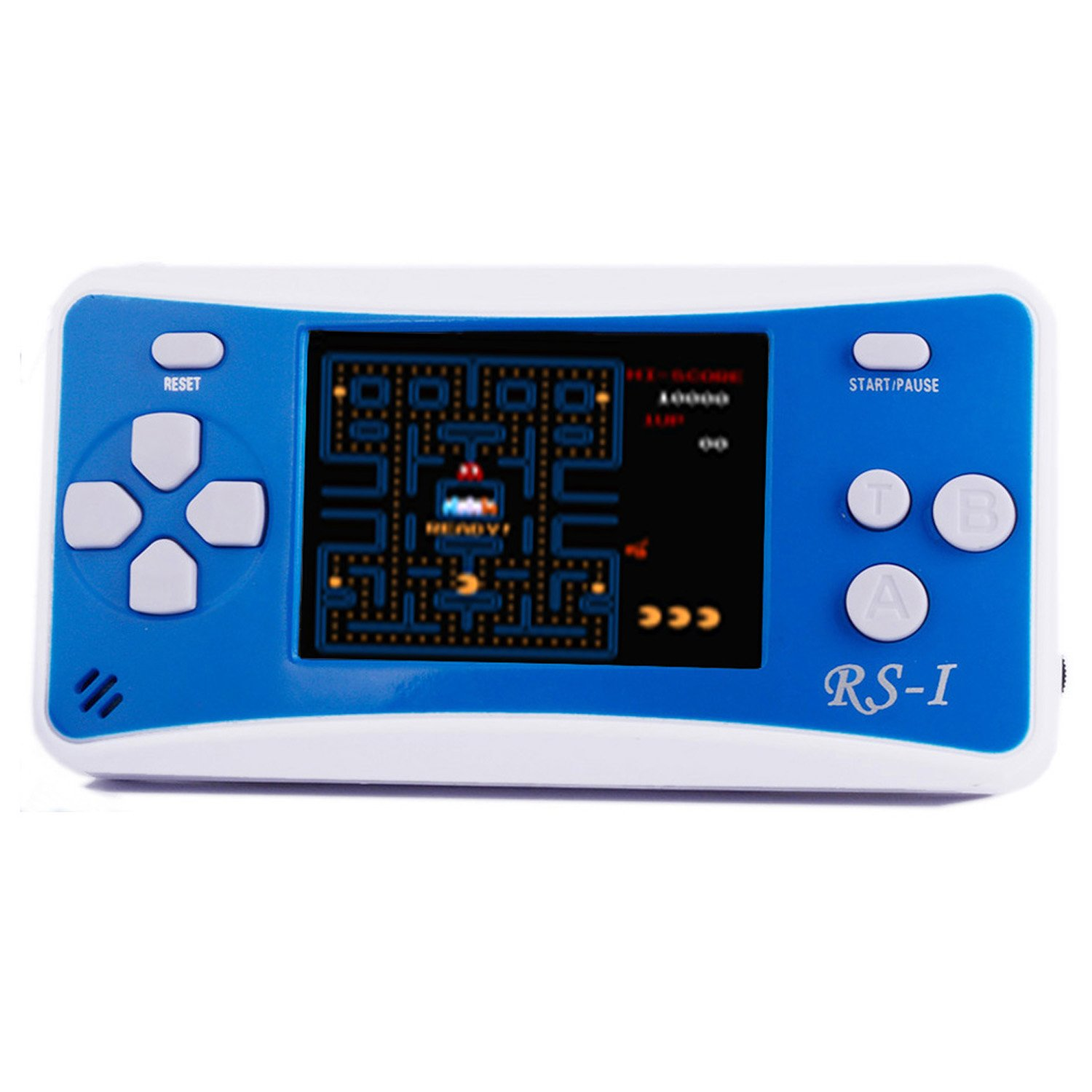 JJFUN RS-1 Handheld Game Console for Children,Retro Game Player with 2.5'' 8-Bit LCD Portable Video Games,The 80's Arcade Video Gaming System,Built-in 152 Classic Old School Games Entertainment-Blue