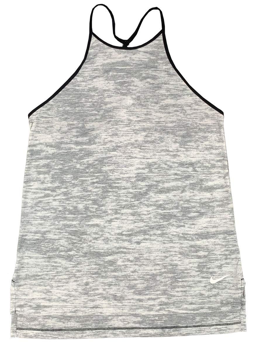 Nike Womens Dri-Fit Breather Lightweight Loose Tank Top Shirt (Small, Black)