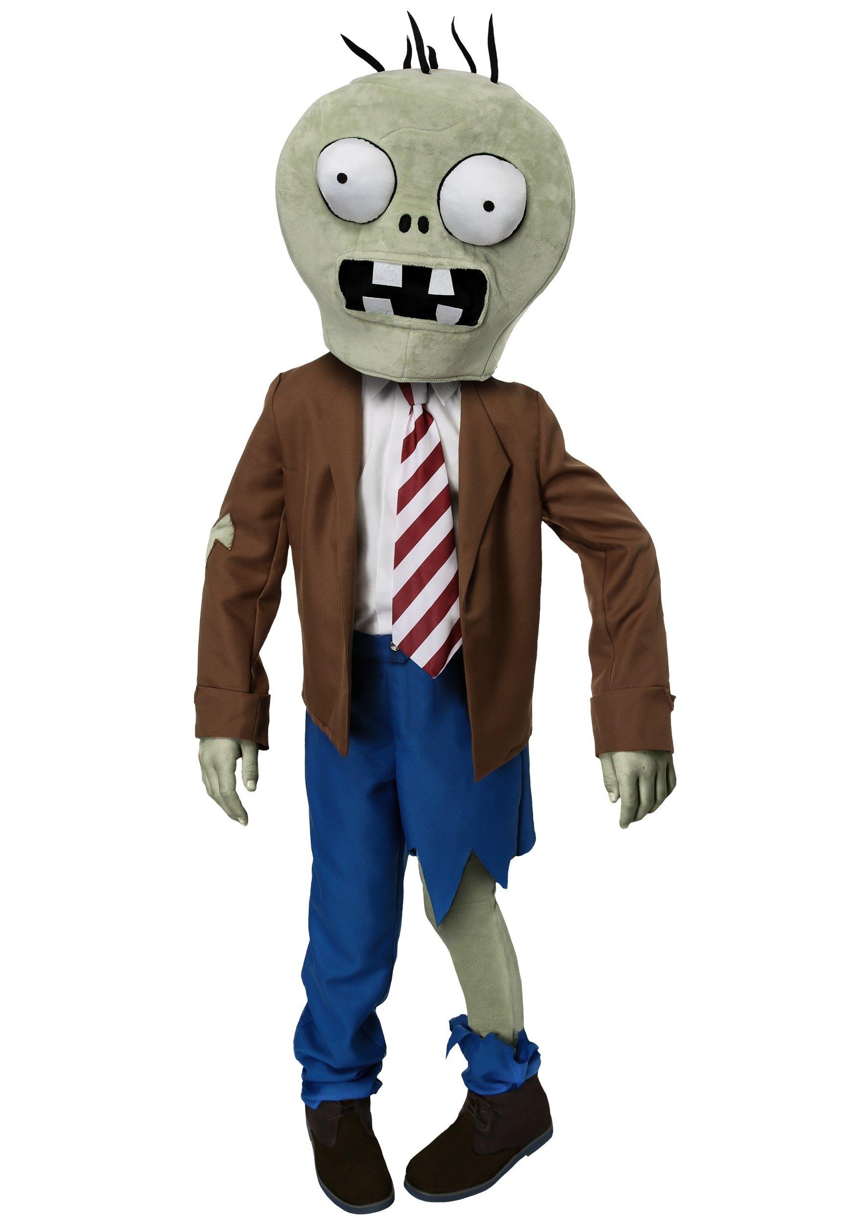 Kids PLANTS VS ZOMBIES Zombie Costume - XS by FunCostumes