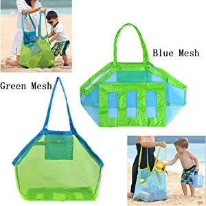 Sweepstakes - Green Mesh Toy Bag: Beach Tote