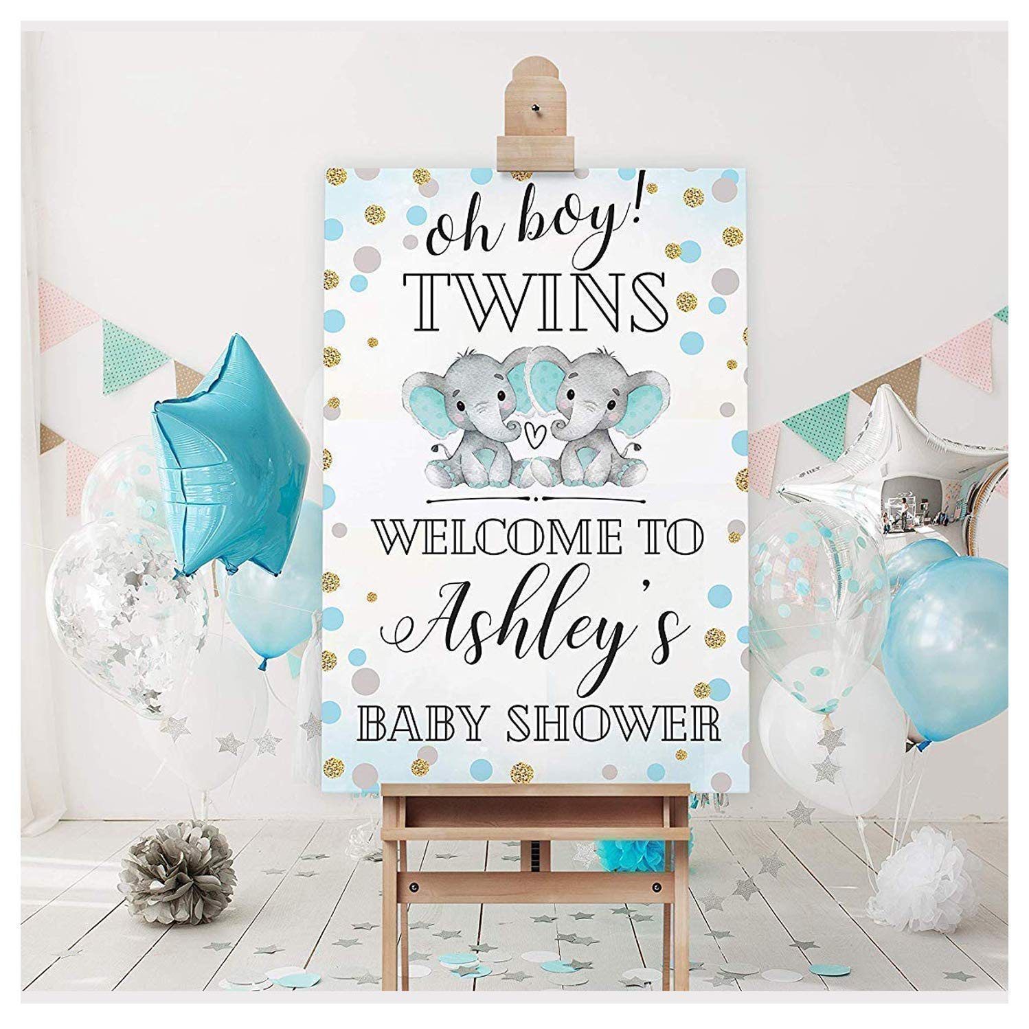 Amazon Com Twin Baby Shower Welcome Sign Twin Boys Baby Boys Shower Welcome Sign Baby Shower Reception Sign Baby Shower Decor Baby Shower Welcome Poster Welcome Sign Print Size 24x36 18x24 Handmade