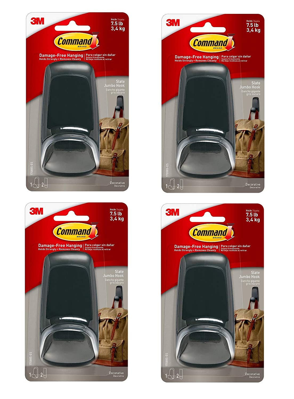 Amazon.com: Command Jumbo gancho, Pizarra: Office Products