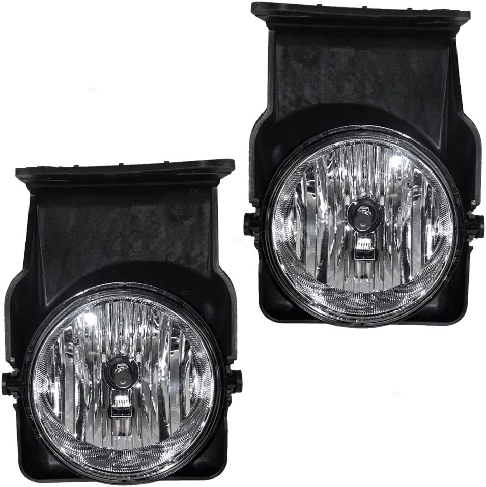 AUTOSAVER88 Fog Lights H10 12V 42W Halogen Lamp for 05-07 Chevy Silverado//05-07 GMC Sierra
