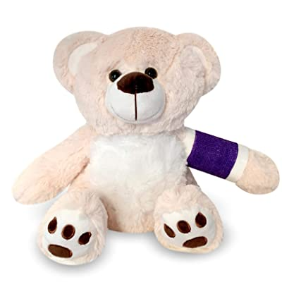 "Higgy Bears 12"" Broken Arm Purple Cast; Left Arm: Toys & Games"