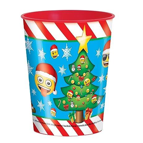 16oz Emoji Christmas Plastic Cup  sc 1 st  Amazon.com & Amazon.com: 16oz Emoji Christmas Plastic Cup: Toys u0026 Games