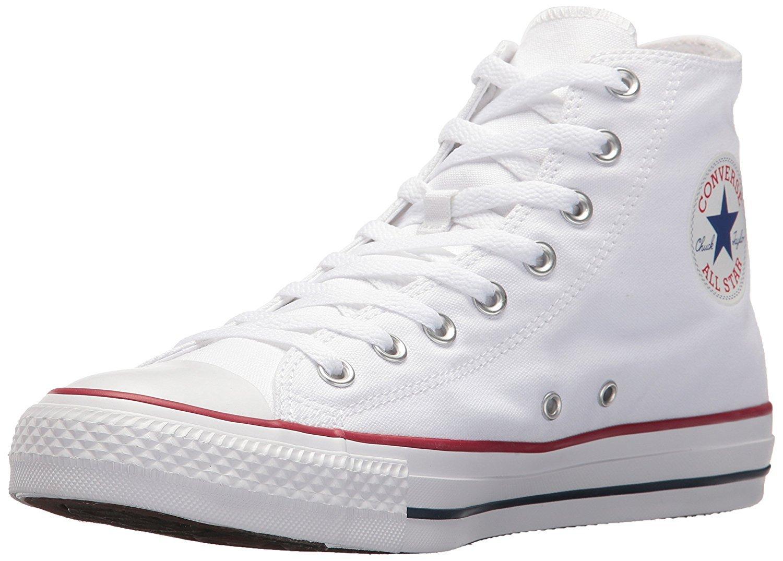 Converse Unisex Chuck Taylor All Star HI Basketball Shoe (4 M US, Optical White)