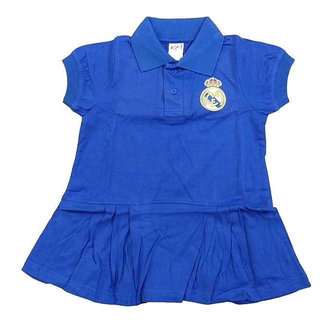 Vestido Real Madrid - Niña - Azul Marino - Producto Bajo ...