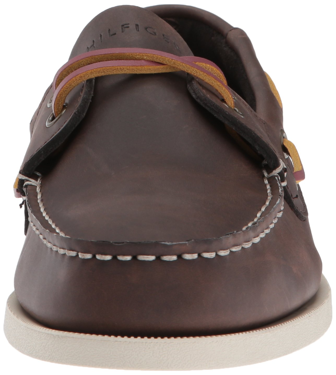 Tommy Hilfiger Men's Bowman Boat shoe,Coffee Bean,8.5 M US by Tommy Hilfiger (Image #4)