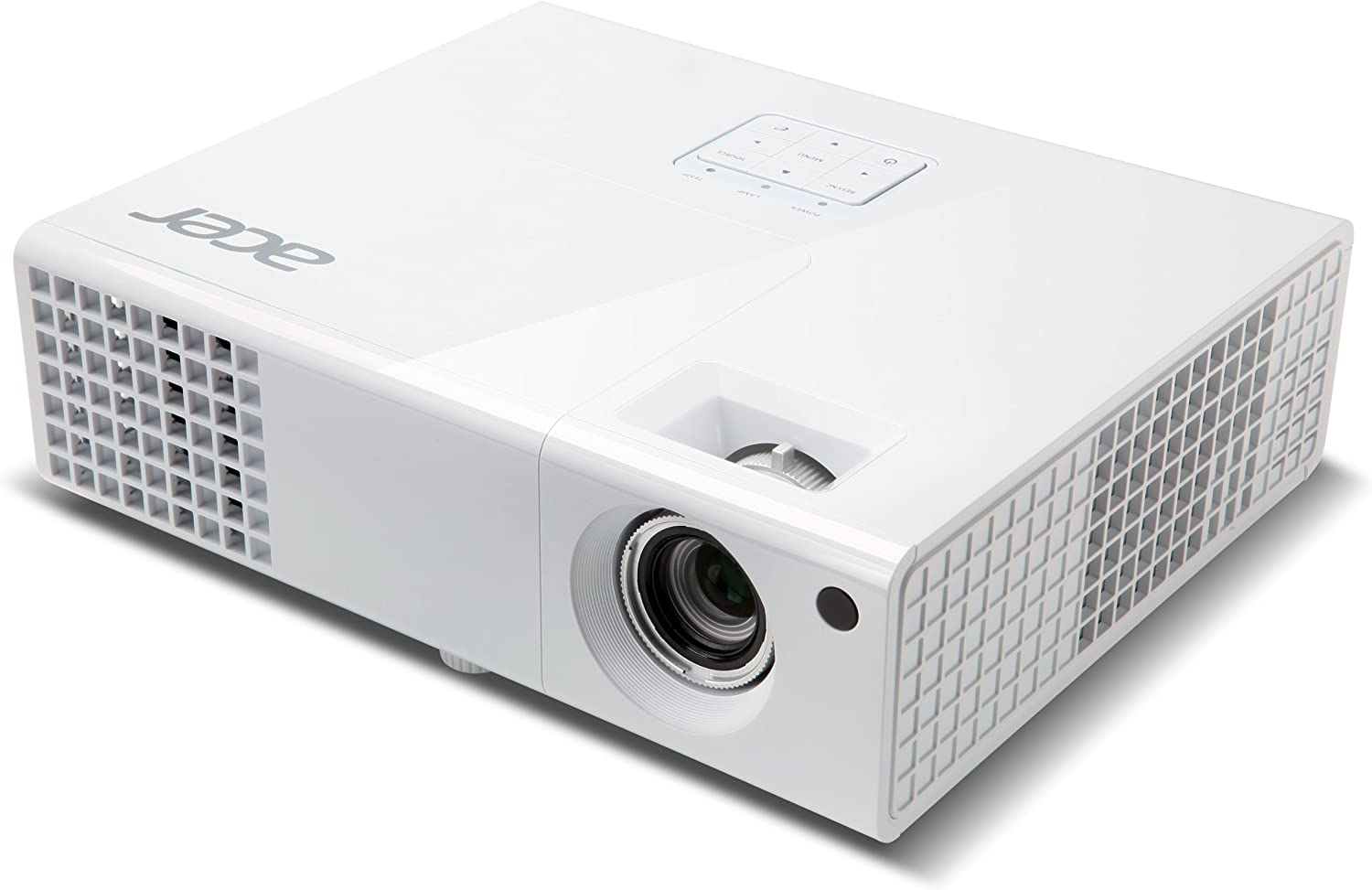 Acer MR.JFZ11.001 - Proyector de 720 pixels, color blanco: Amazon ...