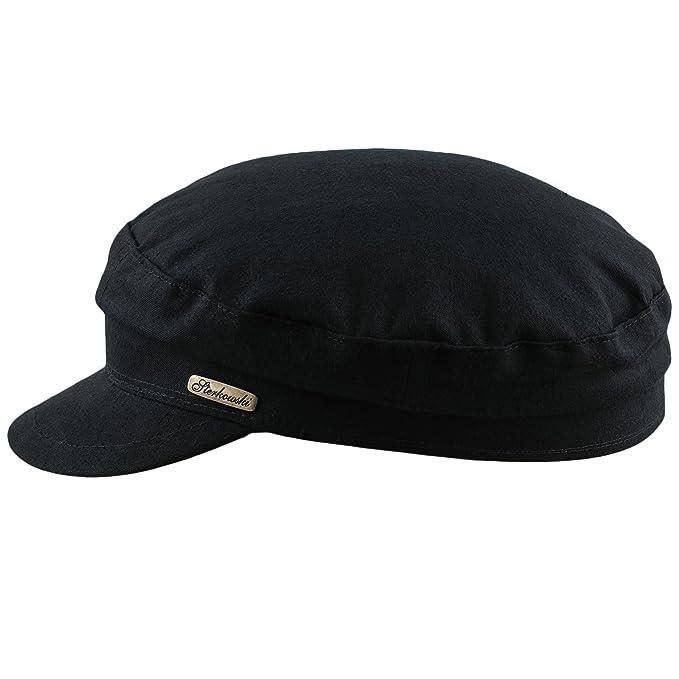 Sterkowski Cappello da marinaio in puro cotone smerigliato  Amazon.it   Abbigliamento 3ecfb129271b