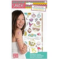 Style Me Up - 75 Metallic Tattoos for Kids - Kids Fake Tattoos - SMU-1165