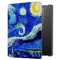 Capa para Kindle Oasis 2 - FIT, leve, fecho magnético (Noite Estrelada)