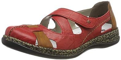 Rieker Damen 49883 Geschlossene Ballerinas Damen Schuhe
