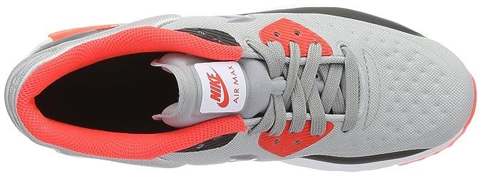 GS NEW AUTHENTIC Grey//Crimson//Black 844599-004 Nike AIR MAX 90 ULTRA SE