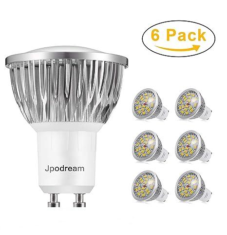 LED Lampe GU10 Warmweiß 3000K, Jpodream 7W 550LM LED Leuchtmittel, Ersatz für 60W Halogen Lampen, 140°Strahlwinke, AC85-265V