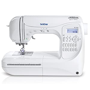 Brother Project Runway PC420PRW 294-Stitch Professional Grade Computerized Sewing Machine