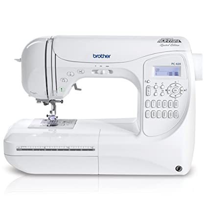 Amazon Brother Project Runway PC40PRW 40Stitch Professional Unique Lettering Sewing Machine