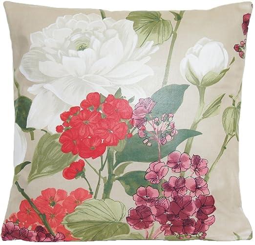 Nina Campbell Diseño de Flores Decor Funda de Almohada de ...