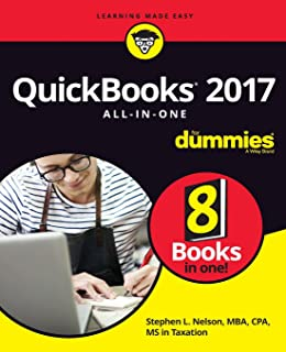 Quickbooks 2017 For Dummies Stephen L Nelson 9781119281467