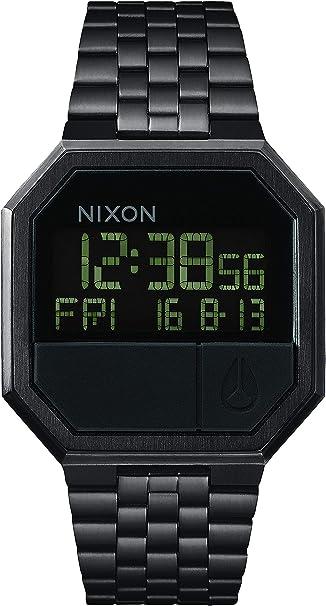 Nixon Reloj Unisex de Digital con Correa en Acero Inoxidable Chapado A158-001-00